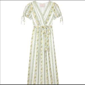 Gal Meets Glam maxi wrap dress